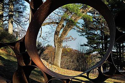 Photograph - Thru The Barrell by Steven Shapse