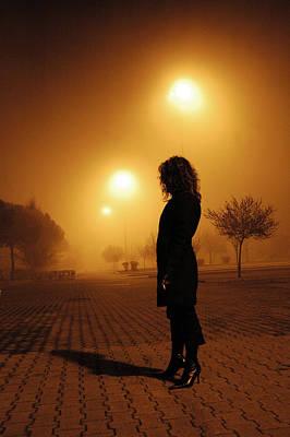 Thru The Fog Art Print by Diego Bonomo