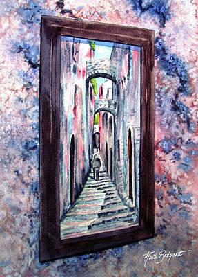 Thru The Looking Glass Art Print by Ruth Bodycott