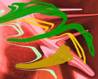 Thrust Art Print by Allan  Hughes