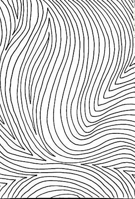 Fingerprint Drawing - Thumbprint  by Jennifer Williams