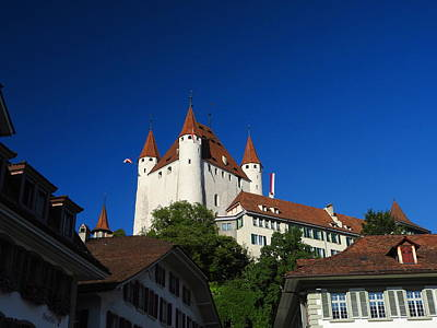 Photograph - Thun Castle by Ernst Dittmar