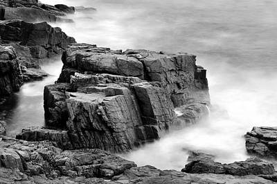 Thunder Along The Acadia Coastline - No 1 Art Print by Thomas Schoeller