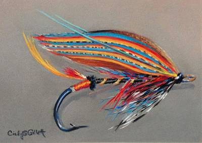 Thunder Painting - Thunder And Lightening by Cindy Gillett