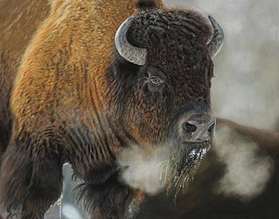Thunder Beast Print by Terry Kirkland Cook