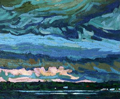 Conservationist Painting - Thunder Cloud by Phil Chadwick