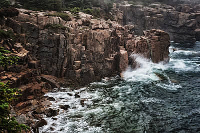 Photograph - Thunder Hole Maine Near Bar Harbor Img_6548 by Greg Kluempers