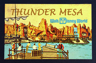Photograph - Thunder Mesa 1970 by David Lee Thompson