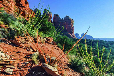 Photograph - Thunder Mountain 07-006 by Scott McAllister