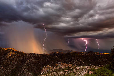 Photograph - Thunder Mountain by James Menzies