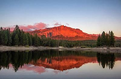 Photograph - Thunder Mountain Silver Lake - California Sierras by Eleanor Caputo