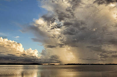 Photograph - Thunder Over The Gulf by HH Photography of Florida