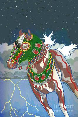 Painting - Thunder Pony I by Chholing Taha