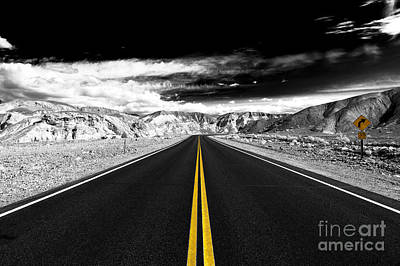 Photograph - Thunder Road Fusion by John Rizzuto