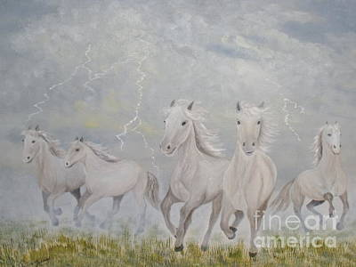 Greeting Card - Thunder Storm by Patti Lennox