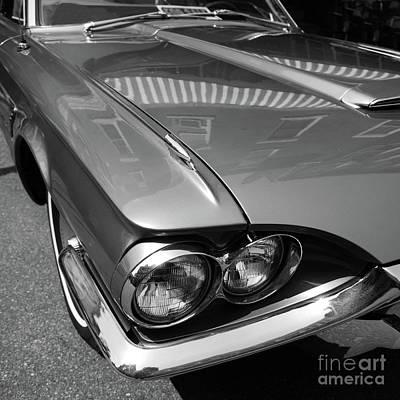 Photograph - Thunderbird  -56462-bw by John Bald