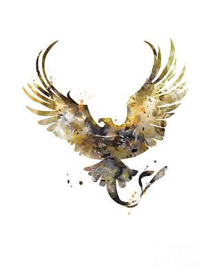 Newts Mixed Media - Thunderbird by Artsaren Art