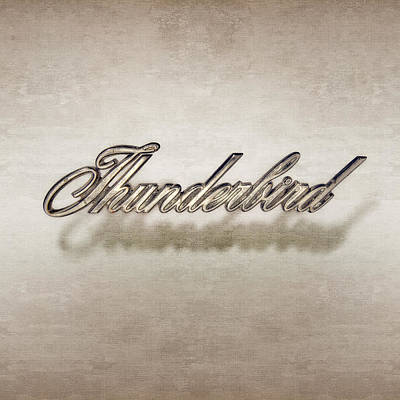 Thunderbird Badge Art Print