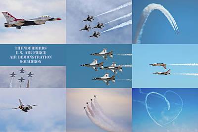 Photograph - Thunderbird Compilation by Dan McManus