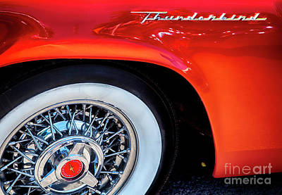 Photograph - Thunderbird by David Millenheft