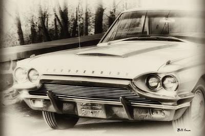 Black Top Digital Art - Thunderbird Dreams by Bill Cannon