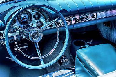 Photograph - Thunderbird Interior by Carlos Diaz