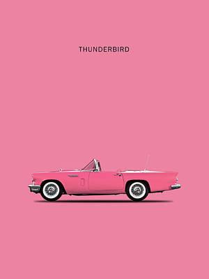 Pink Photograph - Thunderbird Pink by Mark Rogan