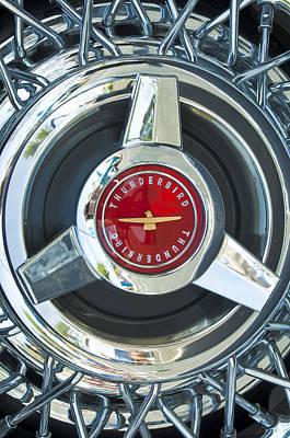 Photograph - Thunderbird Rim Emblem by Jill Reger