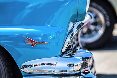 Photograph - Thunderbird V8 by Van Sutherland