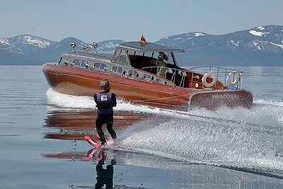 Photograph - Thunderbird Yacht 2 by Steven Lapkin