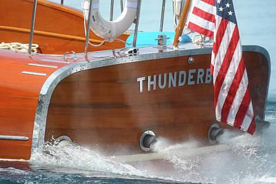 Photograph - Thunderbird Yacht 6 by Steven Lapkin