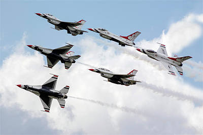 Photograph - Thunderbirds Are Go by Jason Green