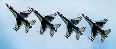 Photograph - Thunderbirds Are Go by Randy Scherkenbach