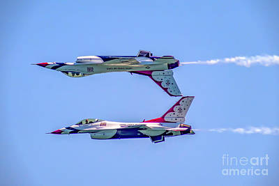 Photograph - Thunderbirds Calypso Pass by Nick Zelinsky