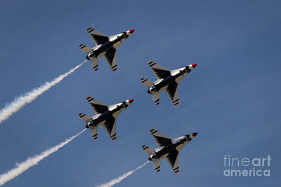 Photograph - Thunderbirds Dsc5846 by Andrea Silies