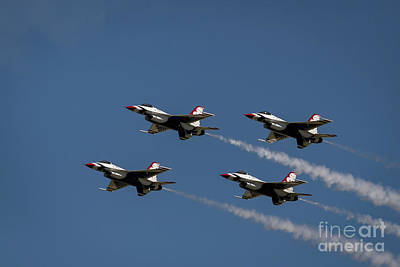 Photograph - Thunderbirds Dsc6413 by Andrea Silies