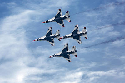Photograph - Thunderbirds In The Sky by Dale Kincaid