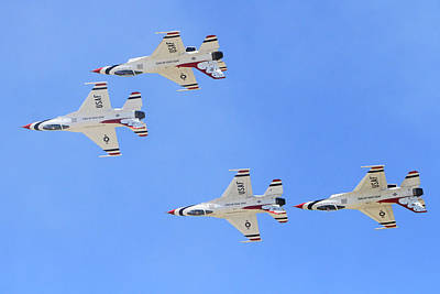 Photograph - Thunderbirds In The Sky by Shoal Hollingsworth