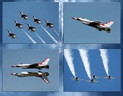 Photograph - Thunderbirds by John Freidenberg