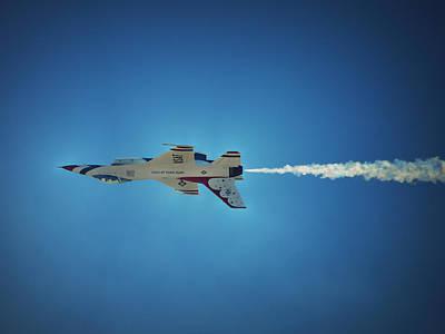Photograph - Thunderbirds - Just Passing Through by Glenn McCarthy Art and Photography