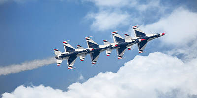 Photograph - Thunderbirds Panoramic by Dale Kincaid