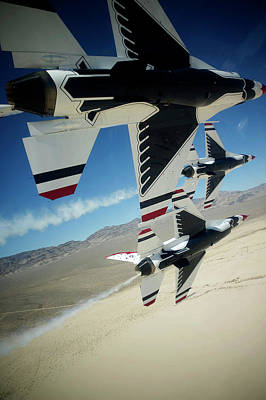Photograph - Thunderbirds Photo by The Grumman Store