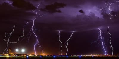 Photograph - Thunderbolts by Brad Brizek