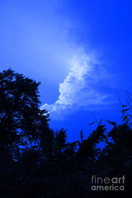 Photograph - Thunderhead Blue By Jrr by First Star Art