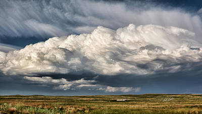 Photograph - Thunderhead Breakdown by Bill Kesler