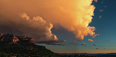 Photograph - Thunderhead In Sedona by Robert FERD Frank