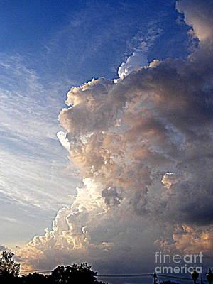 Photograph - Thunderhead by Nancy Kane Chapman