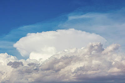 Photograph - Thunderhead by SR Green
