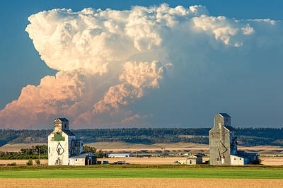 Agriculture Photograph - Thunderhead by Todd Klassy