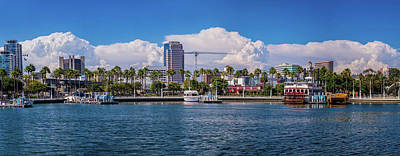 Photograph - Thunderheads Over Long Beach by Lynn Bauer